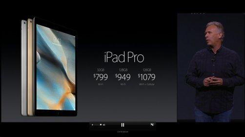 iPad Pro lineup.