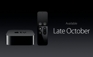 Refreshed Apple TV.