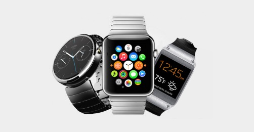 Popular smartwatches.