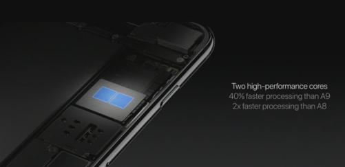 A10 Fusion chip details.